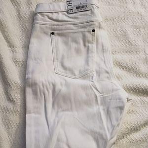 Hue Legging White Jean